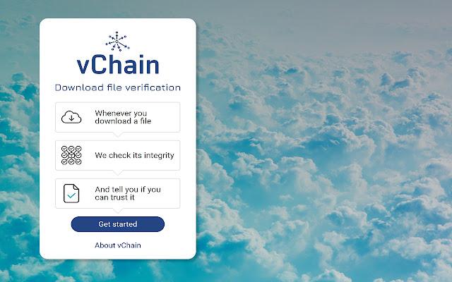 vChain CodeNotary - Downloads Verification