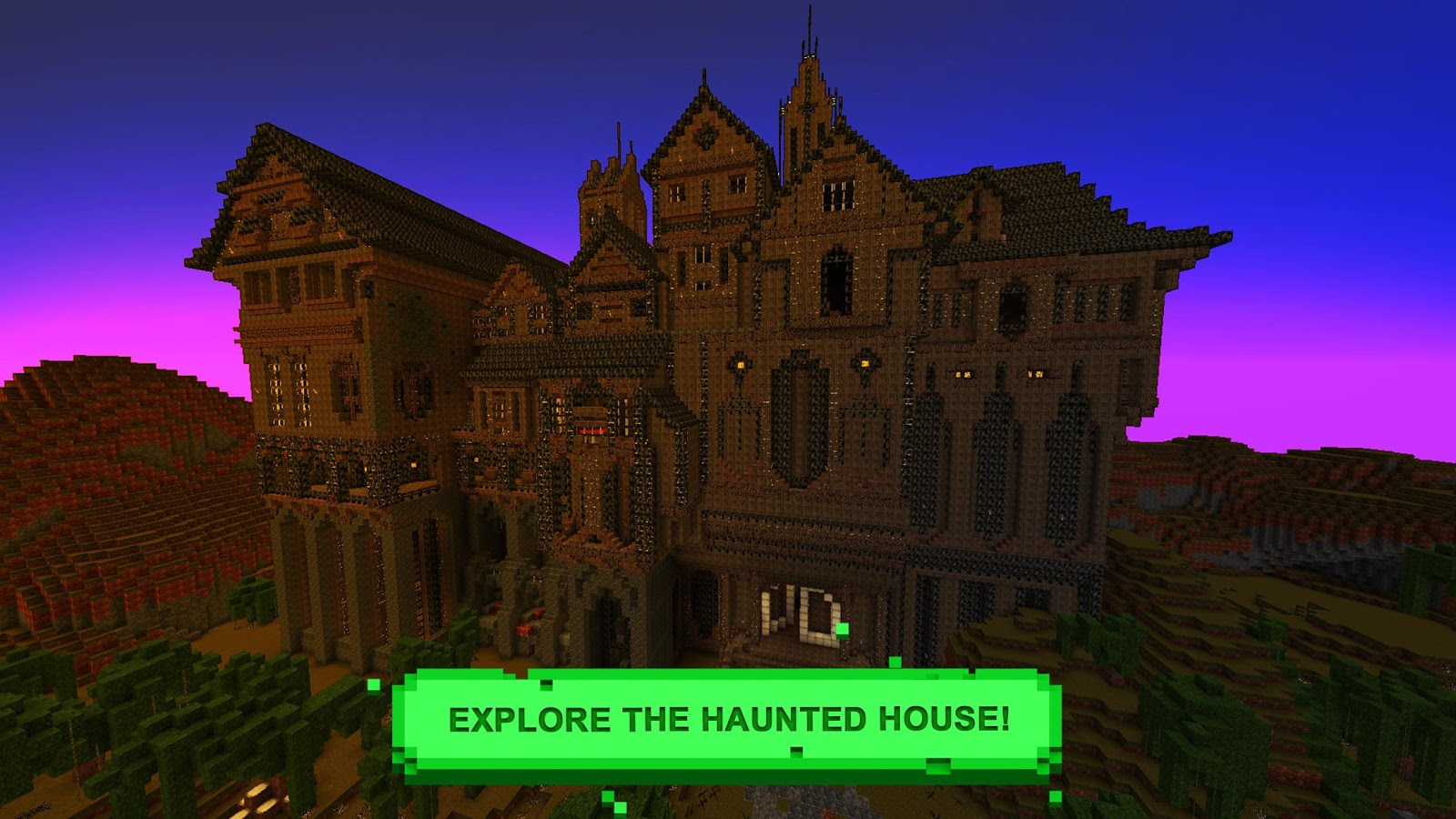Horror craft scary exploration android apps on google play for Crafting and building 2