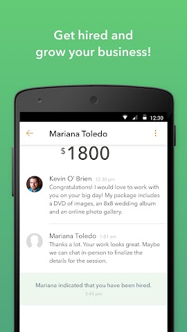 android Thumbtack for Professionals Screenshot 3