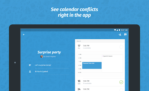 Doodle - Easy Scheduling- screenshot thumbnail