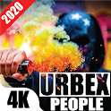 Urbex People Wallpapers    Mask Man Backgrounds icon