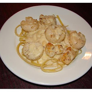Scallops In White Wine Sauce