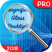? Magnifier Glass with Flashlight PRO