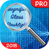 🔎 Magnifier Glass with Flashlight PRO