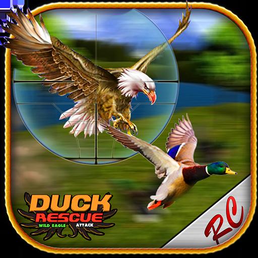 鸭救援野鹰攻击 冒險 App LOGO-硬是要APP