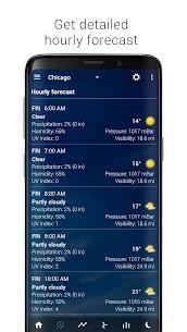 Transparent clock weather Apk (Ad-free) 4