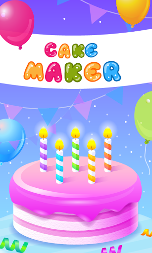 Cake Maker - Cooking Game apkpoly screenshots 6