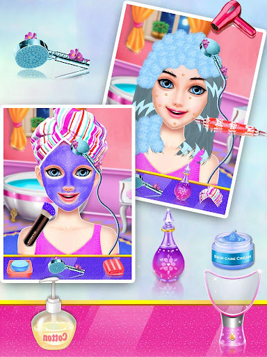 Code Triche Dress Up Girls Game : Stylist - Fashion Salon APK MOD screenshots 5