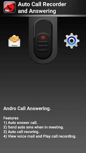 Auto Call Recorder Answering