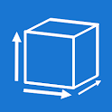 Square meters / Cubic meters calculator icon