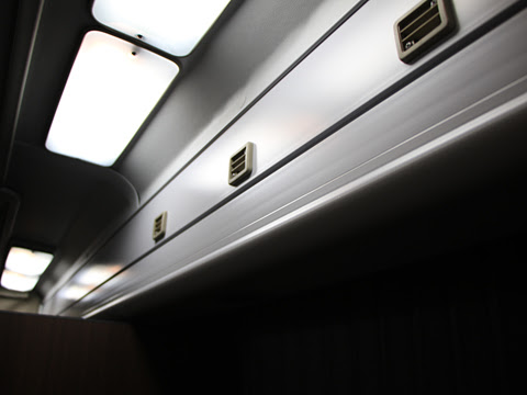 JRバス関東「ドリームルリエ号」 H677-11401 プレシャスクラス 天井