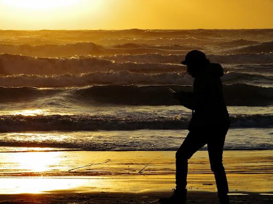 Questo mare al tramonto lo voglio condividere! di Giorgio Lucca