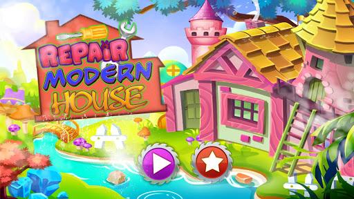 Repair Modern House: Cleaning & Fix it Game 0.2 screenshots 1