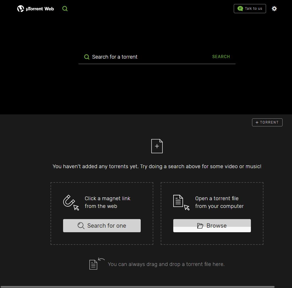 Visit uTorrent Web...