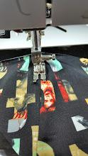 Photo: doorstikken ondercup stitching lowercup