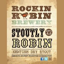 Logo of Rockin Robin Stoutly Robin