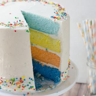 Moist Sour Cream Vanilla Cake Recipes