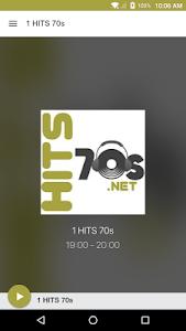 1 HITS 70s screenshot 0
