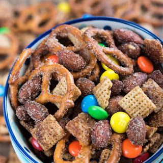 Cinnamon Sugar Snack Mix.