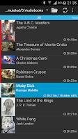 Screenshot of Smart AudioBook Player