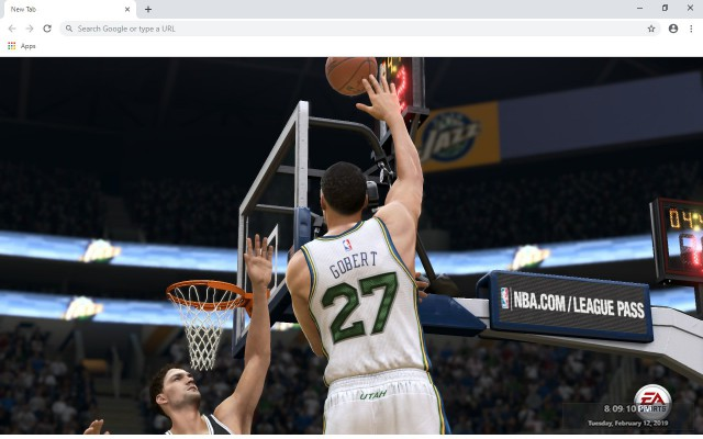 Rudy Gobert New Tab & Wallpapers Collection