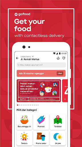 Gojek - Ojek Taxi Booking, Delivery and Payment screenshot 2
