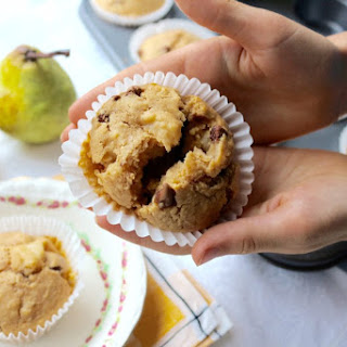Pear and Chocolate Muffins