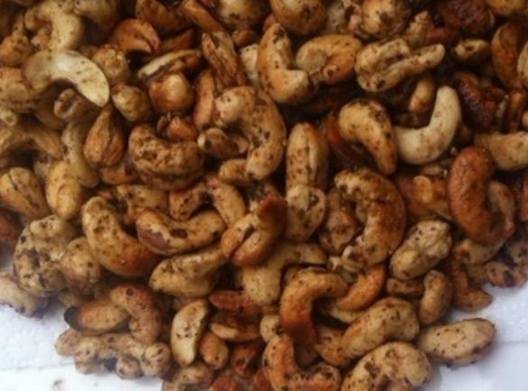 Spiced Roasted Cashew's Recipe