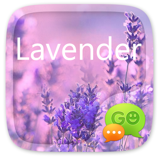 GO SMS LAVENDER THEME II
