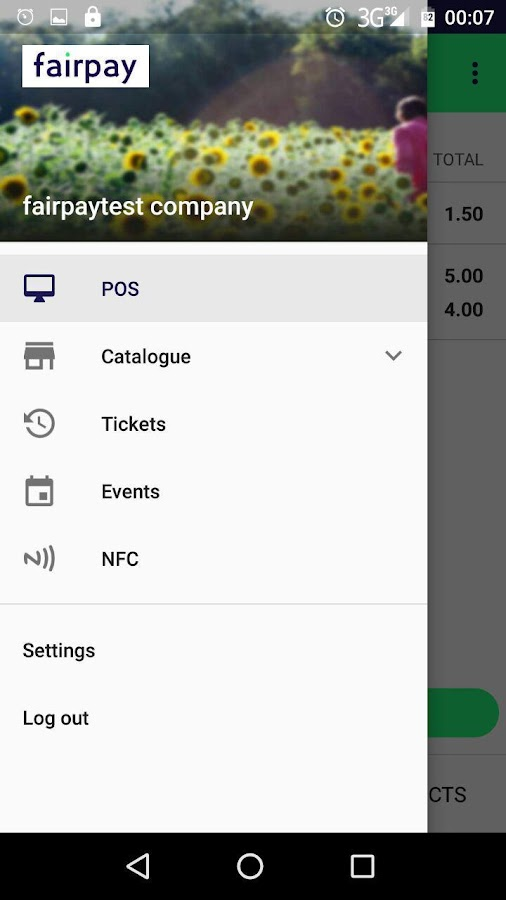 Fairpay- screenshot