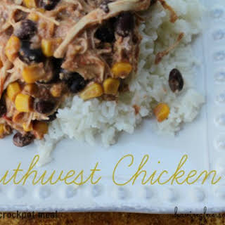 Southwest Chicken - Freezer to Crockpot Meal.