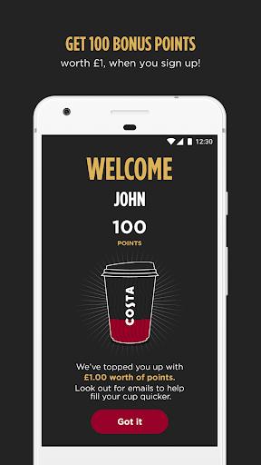 Costa Coffee Club  screenshots 1
