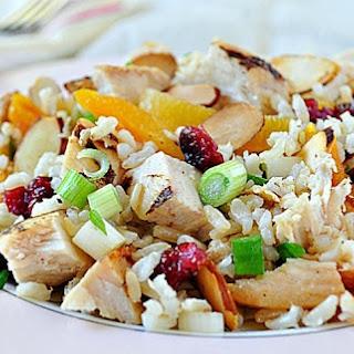 Turkey Apricot Rice Salad