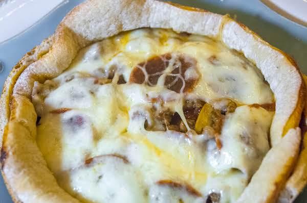 Topsy Turvy Pizza Pie Recipe
