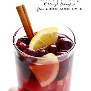 Sparkling Cranberry Orange Sangria.