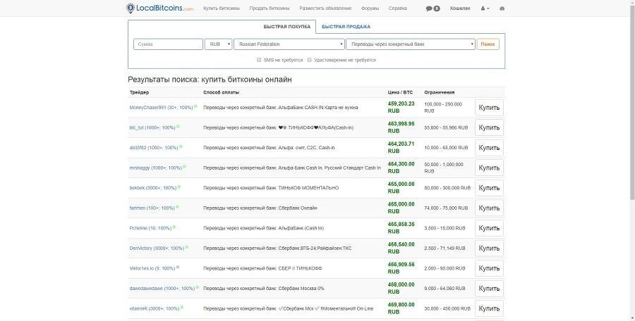 7dc5761e89c0 Зарегистрируйтесь, в соответствующих полях выберите валюту, страну и метод  оплаты и нажмите «Поиск». Вам покажут список объявлений на основе выбранных  ...