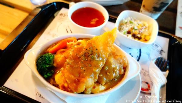咖哩捌捌 平價咖哩、焗烤、燉飯。無限續飯、醬汁、湯、沙拉