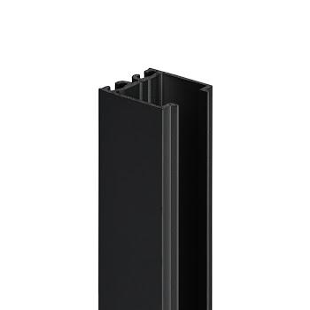 Profilé de compensation, 18 mm, noir, pour porte pivotante et battante NewStyle