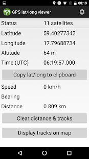 GNSS Viewer Android Apps On Google Play - Lat long altitude