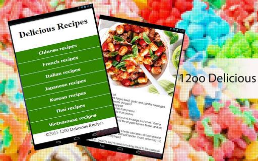 1200 Delicious Recipes