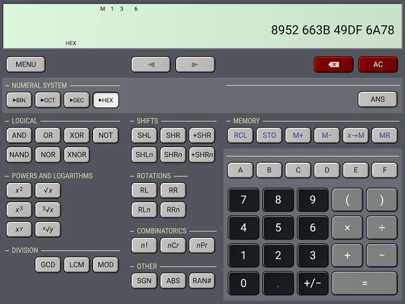 HiPER Calc Pro Screenshot 13