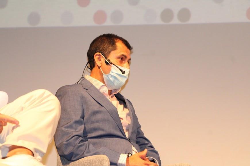 Sergio Arráez, expresidente de AJE Almería.