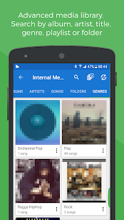 Share music in sync - SoundSeeder Music Player 2.0- screenshot thumbnail