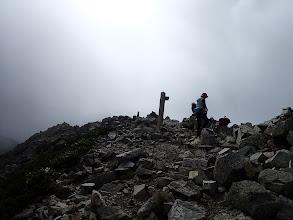 爺ヶ岳南峰に到着
