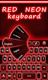 Red-Neon-GO-Keyboard-Theme 2