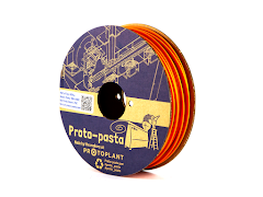 Proto-Pasta Orange Matte Fiber HTPLA Filament - 1.75mm (0.5kg)