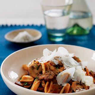Cavatelli with Mushroom Ragù