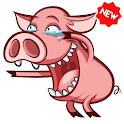 🐷🐽 Pigs Stickers Packs WAStickerApps icon