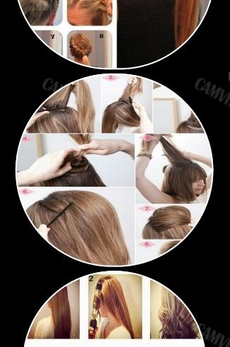 Easy Hairstyles Step By Step Android Apps On Google Play - Easy hairstyle videos download