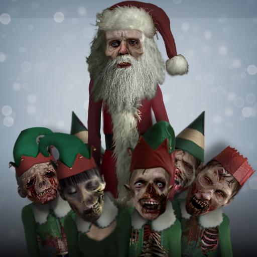 Zombie Santa - Santa's dead baby, Santa's dead.